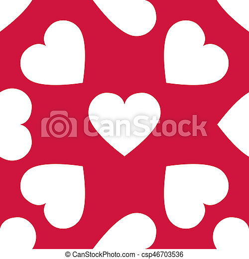Background with hearts - csp46703536