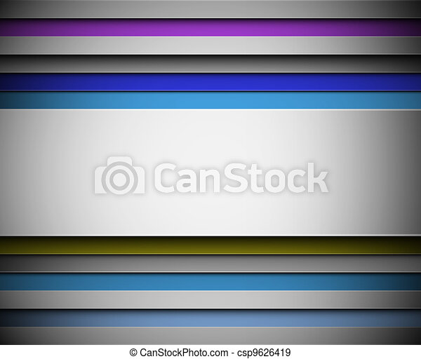 Background with lines - csp9626419