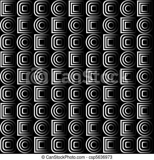 Background with optical effects in black and white - csp5636973