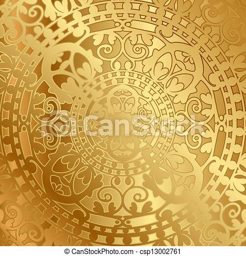 background with oriental decoration - csp13002761