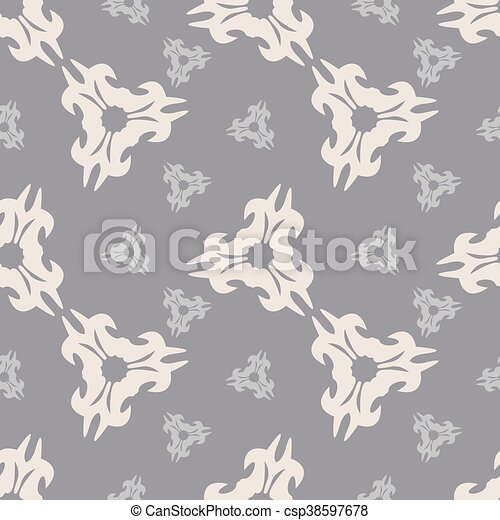 background with pattern in vintage style - csp38597678