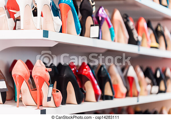 Background with shoes - csp14283111