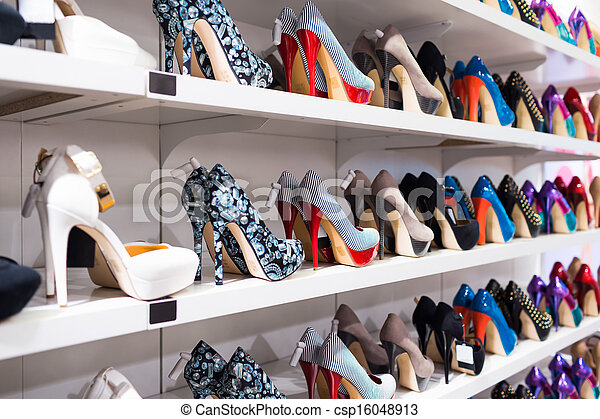 Background with shoes - csp16048913
