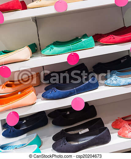 Background with shoes - csp20204673