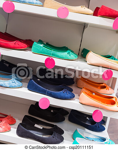 Background with shoes - csp20111151