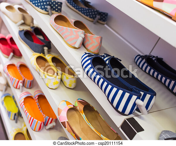 Background with shoes - csp20111154