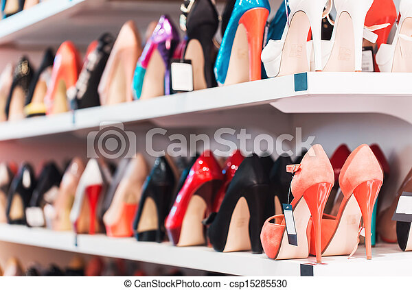 Background with shoes - csp15285530