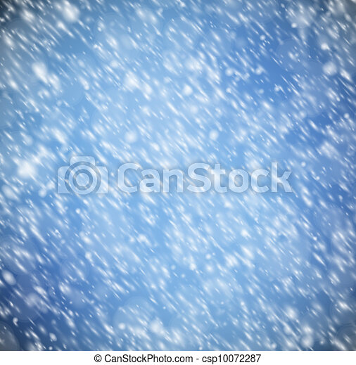 Background with snow - csp10072287