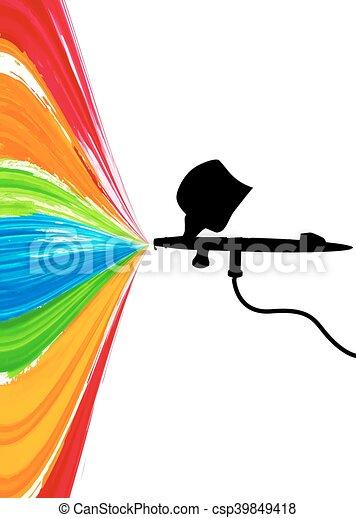 background with spray paint vector art illustration vector clip rh canstockphoto com spray paint vector brush illustrator spray paint can vector free