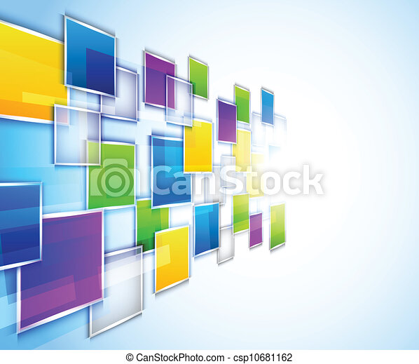 Background with squares - csp10681162
