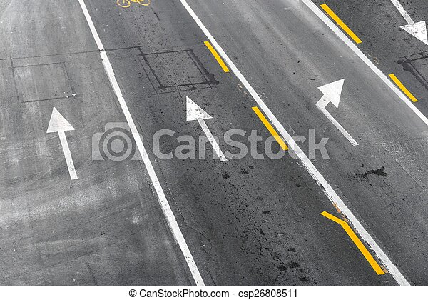 Background with tire marks - csp26808511