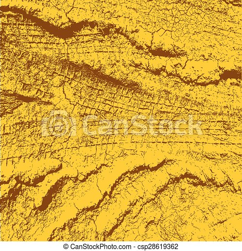 Background with traces of tires. Vector illustration. - csp28619362