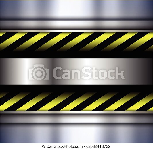 Background with warning stripes - csp32413732
