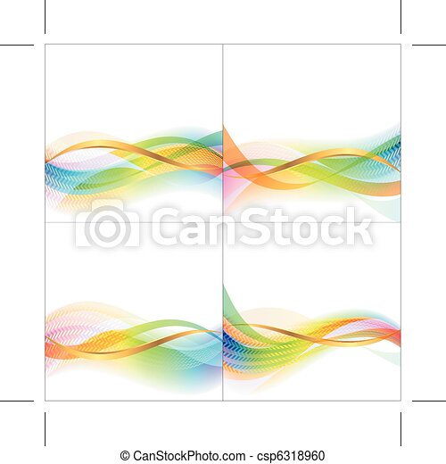 backgrounds for presentation with waves - csp6318960