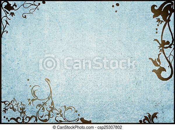 backgrounds frame  - csp25307802