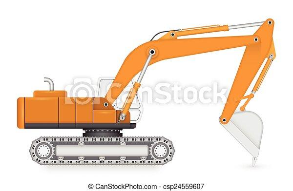 Backhoe - csp24559607