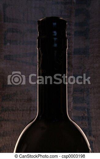 Backlit bottle - csp0003198