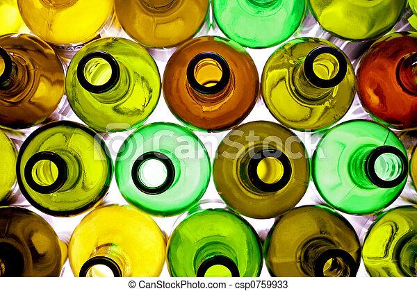 backlited bottles - csp0759933