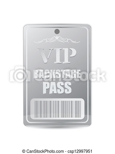 Backstage pass vip - csp12997951