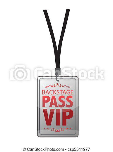 Backstage pass vip - csp5541977
