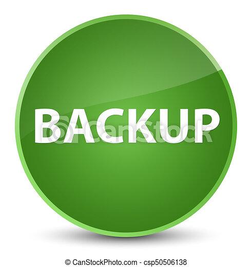 Backup elegant soft green round button - csp50506138