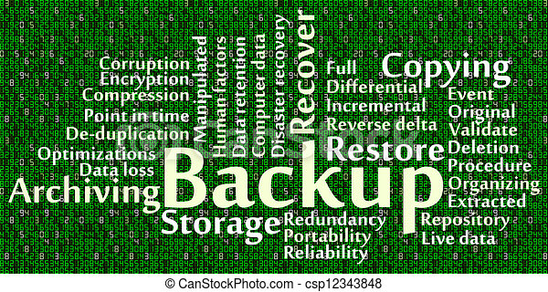 Backup - csp12343848