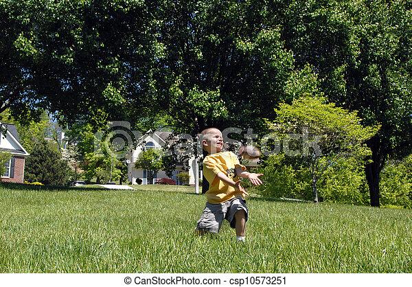 Backyard Ball - csp10573251