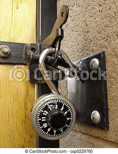 Genial Backyard Door Lock   Csp0229760