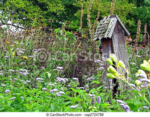 backyard garden - csp2724788