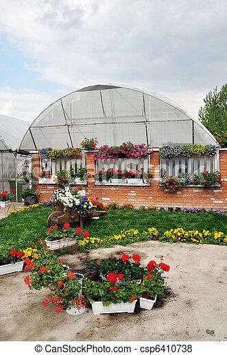 Backyard Garden - csp6410738