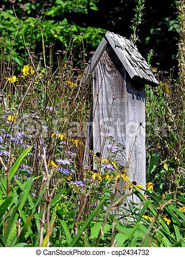 backyard garden - csp2434732