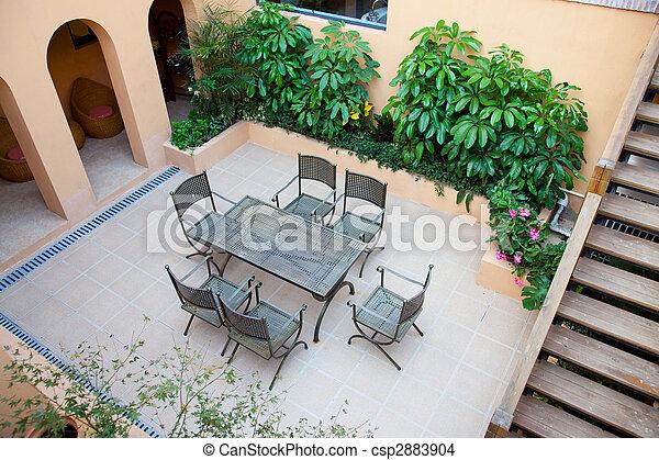 Backyard - csp2883904