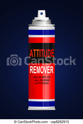 Bad attitude cure. - csp8262915