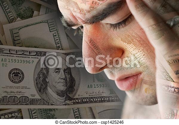 Bad Economy - csp1425246