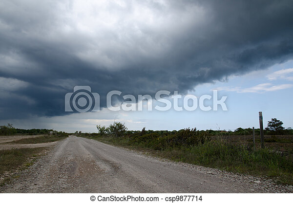 Bad weather coming - csp9877714
