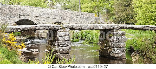 Puente Clapper - csp2119427