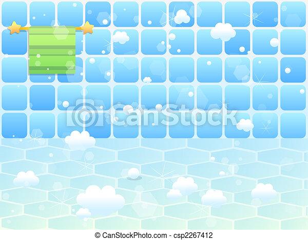 Blaues, badezimmer, blase, seife, mosaik Clipart - Suche ...