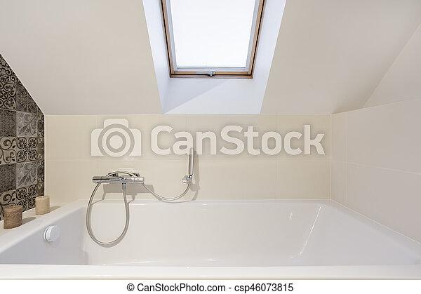Badezimmer Dachgeschoss Licht Badezimmer Modern Dachgeschoss