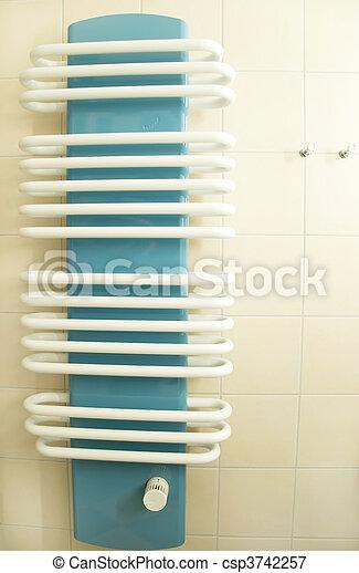 badezimmer, heizkörper