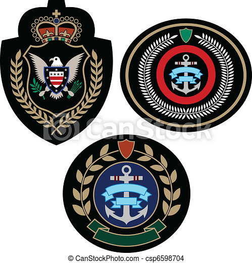 badge adventure set - csp6598704