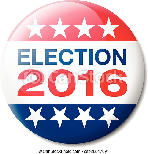 Badge Election 2016 - csp26847691