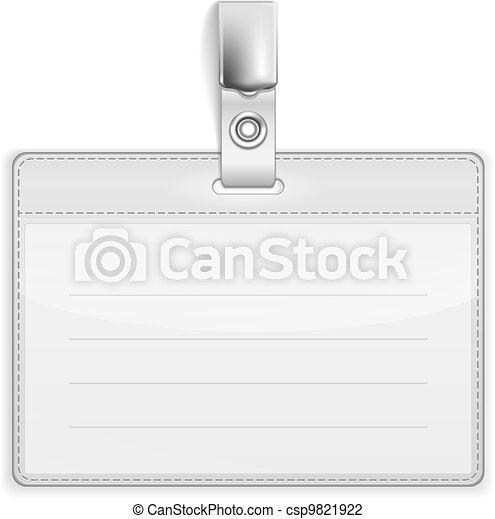 Badge Holder - csp9821922