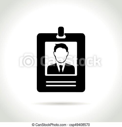 badge on white background - csp49408570