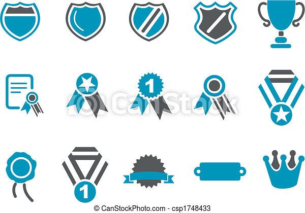 Badges Icon Set - csp1748433