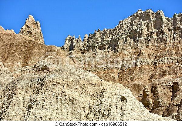 Badlands Formations - csp16966512
