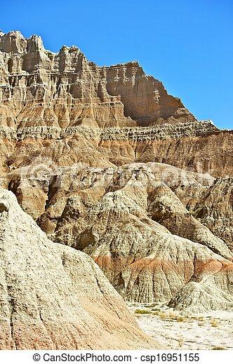 Badlands Geology - csp16951155