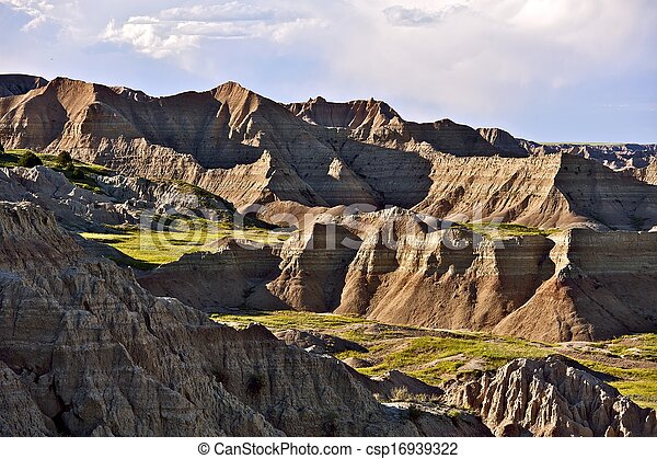 Badlands Landscape - csp16939322