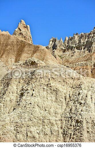 Badlands Pinnacles - csp16955376