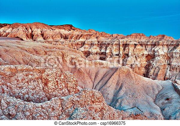 Badlands Stones - csp16966375