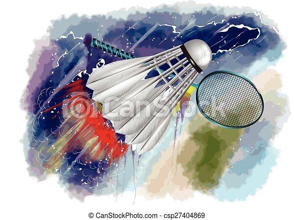 badminton, championnat - csp27404869